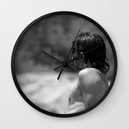 Dripping With Desire Wall Clock