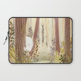 Little ghost in the woods Laptop Sleeve