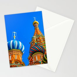 St. Basil's cathedral Stationery Cards