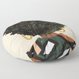 Black Art Matters Floor Pillow