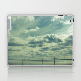 Empty beach Laptop & iPad Skin