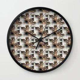 Battery Mishler Power Hoist lower section pattern Wall Clock