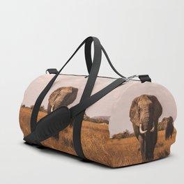 Elephants Duffle Bag