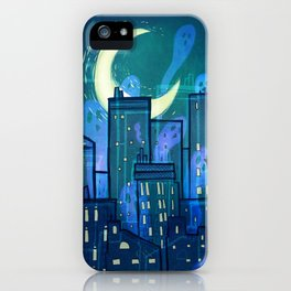 This City is Full of Ghosts (I) iPhone Case