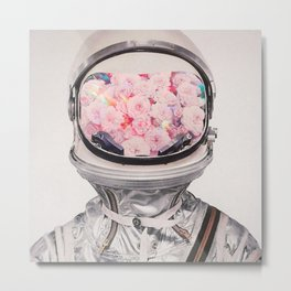 Cosmonaut Metal Print