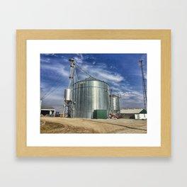 Grain Silo Framed Art Print