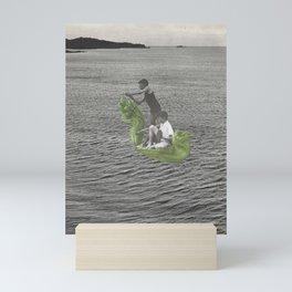 de naturaleza navegante Mini Art Print
