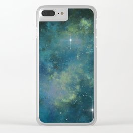 Exploring the Universe 18 Clear iPhone Case