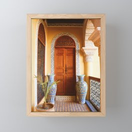 Welcome to Morocco Framed Mini Art Print