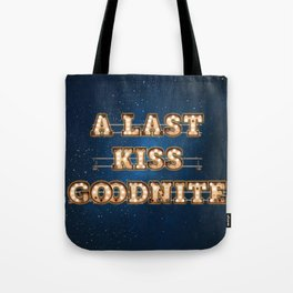 A last Kiss Goodnite -  Wall-Art for Hotel-Rooms Tote Bag