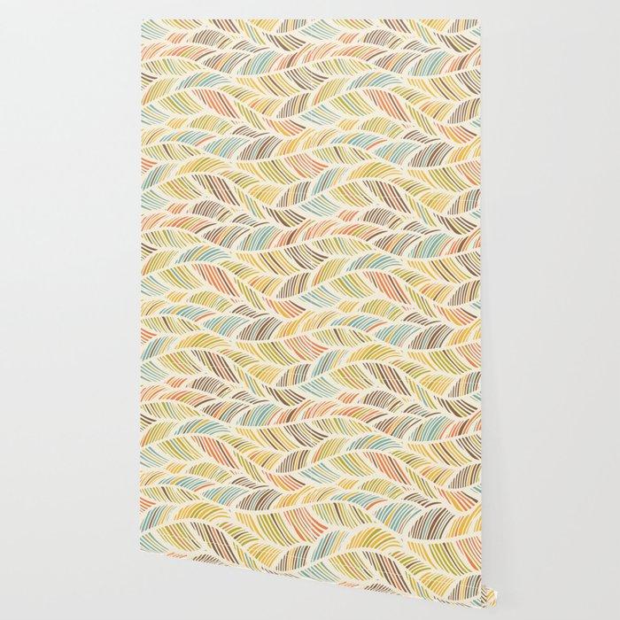 Fine Feather Pattern Wallpaper