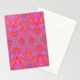 Mad pink marble 2 Stationery Cards