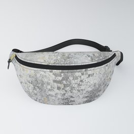 Abstract gray Fanny Pack