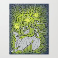 Medusa and the Gorgon Sisters Canvas Print