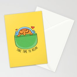 Take Time To Relax Stationery Cards