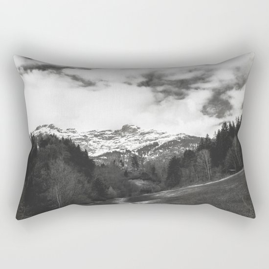 Where does it all lead? Rectangular Pillow