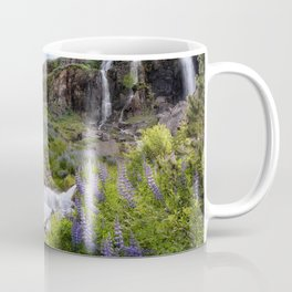 Lupine Landscape Coffee Mug