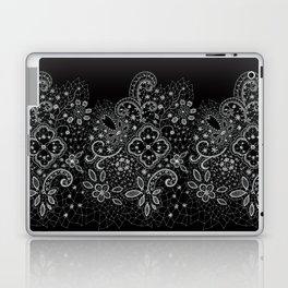 B&W Lace Laptop & iPad Skin