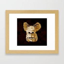 Gorilla Monday Framed Art Print
