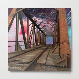 Bridge To Another World Metal Print