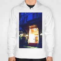 outdoor Hoodies featuring In Through the Outdoor~ New York City by 13th Moon Social Club