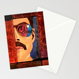 Freddie Killer Queen Mercury Portrait Stationery Cards