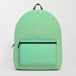 Green Ombre Glitter Look Backpack
