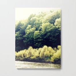 Sun-Kissed Muddy Water Metal Print