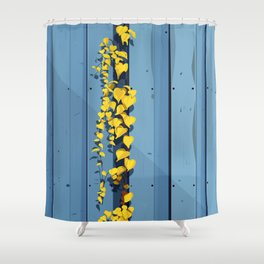Postcard from the Garden Shower Curtain