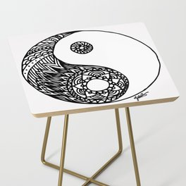 Tangled Yin Yang Side Table