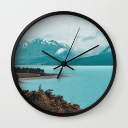 Lake Pukaki Wall Clock