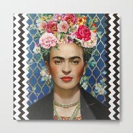 Forever Frida Metal Print