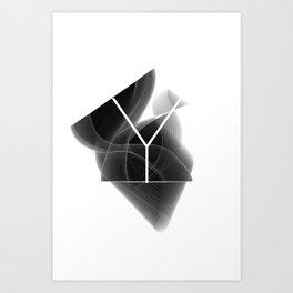 Dark Math. Y Art Print
