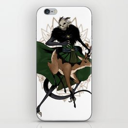 Rahu & Kar-tei iPhone Skin
