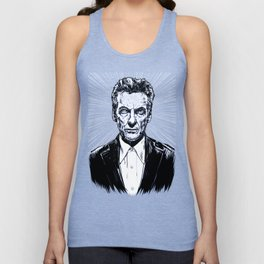 The Twelfth Doctor - Peter Capaldi Unisex Tank Top