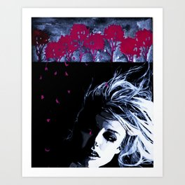 The Beauty of Despair #4 Art Print