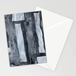 Grey matchsticks  Stationery Cards