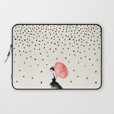 Polka Rain Laptop Sleeve
