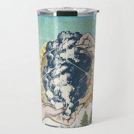 SMOKE GEOMETRY Travel Mug