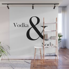 VODKA & SODA #2 Wall Mural