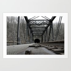 Bridge. Art Print