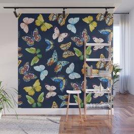 Butterfly Pattern 03 Wall Mural