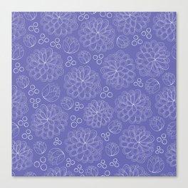 Terrariums Pattern Canvas Print