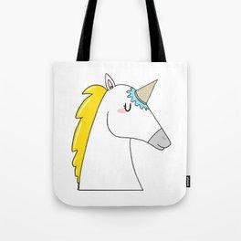 Undercover unicorn Tote Bag
