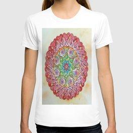 Watercolor Painting Australian Art Mandala Hippie Celtic Knot T-shirt