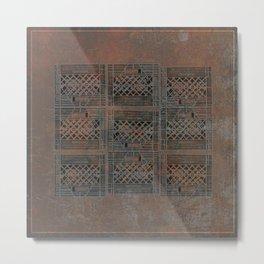 3x3 Metal Print