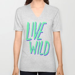 Live Wild: Alaska Unisex V-Neck