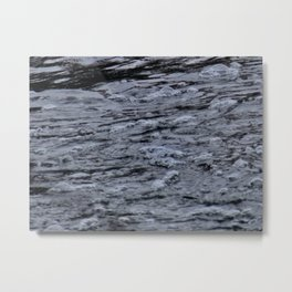 Bubbles on the water Metal Print