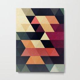 Cosmetic triangles Metal Print