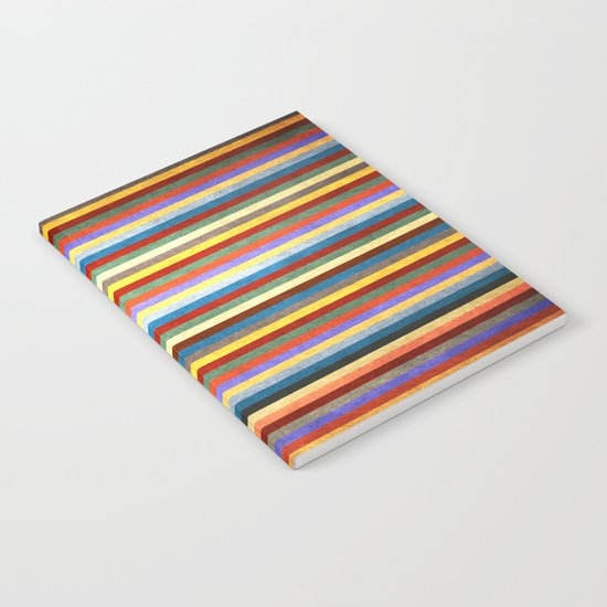 Crazy Stripes Notebook